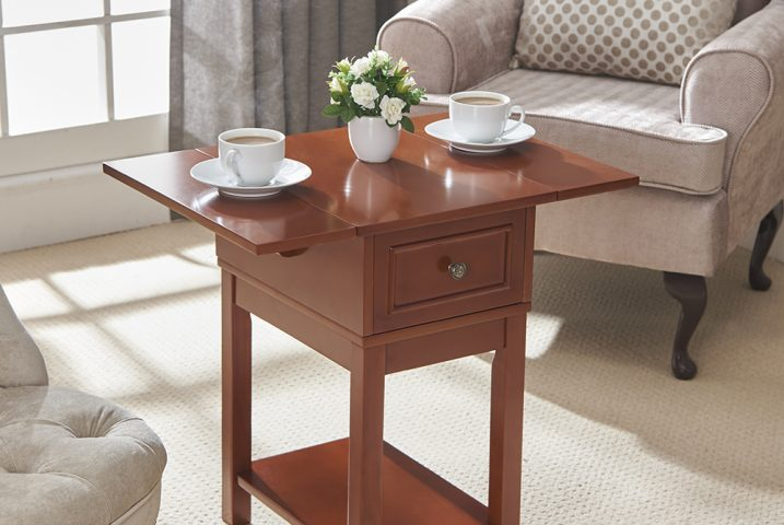 4493 Drop Leaf Table Oak Website use front image 2